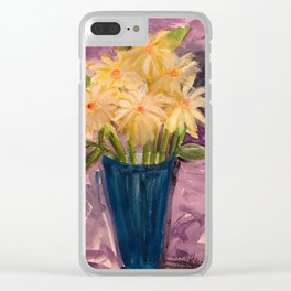 Everything is coming up Daisies Clear iPhone Case
