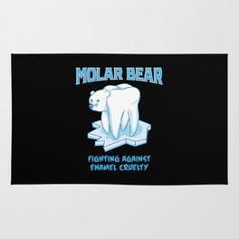 Molar Bear! - Gift Rug