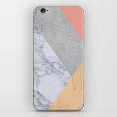 Blush Marble Wood iPhone & iPod Skin