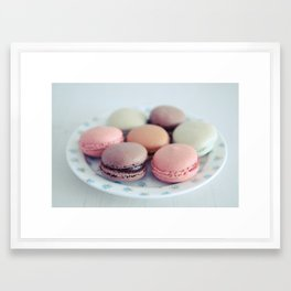 Life On A Plate Framed Art Print
