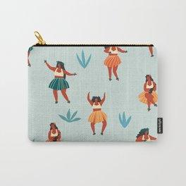 Hawaiian dance seamless pattern Carry-All Pouch