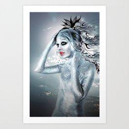 SHE ALIEN Art Print