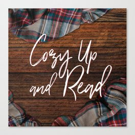Cozy Up and Read Canvas Print