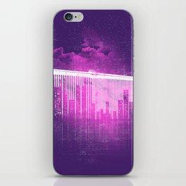 La Ville au Peigne Fin iPhone Skin