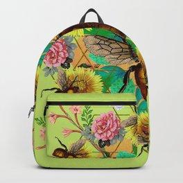Bee Mandala Backpack