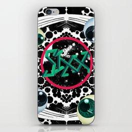 SIXX in Supersonic Black iPhone Skin