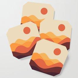 Geometric Landscape 21 Coaster