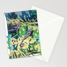 Turntables and a Mic (original sold) Stationery Cards