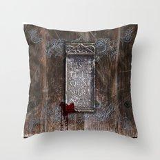 LASCIATE OGNI SPERANZA Throw Pillow