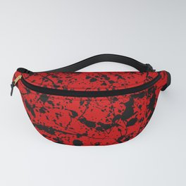 Red & Black #1 Fanny Pack