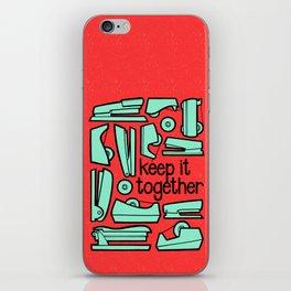 keep it together iPhone Skin