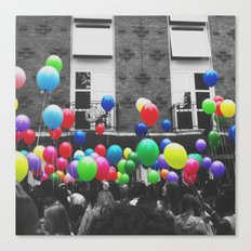 All the balloons Canvas Print