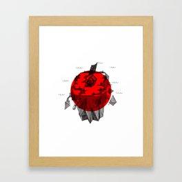 Japan 2011 Tsunami Framed Art Print