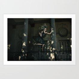 Salto Art Print