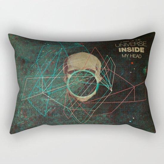 A Part Of The Universe Inside My Head Rectangular Pillow