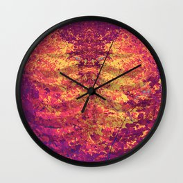 Arboreal Vessels - Heart Breath Wall Clock