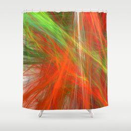 Disco Lights (A7 B0217) Shower Curtain