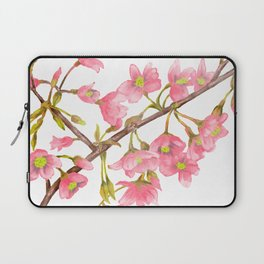 Watercolor Spring Tree Branche Laptop Sleeve