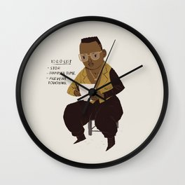 hammer to do list Wall Clock