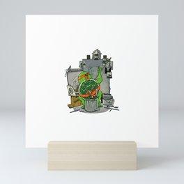Mikey Rockwell Mini Art Print