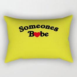 Someones Babe Rectangular Pillow