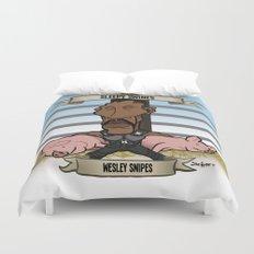 Sleepy Swines (Wesley Snipes) Duvet Cover