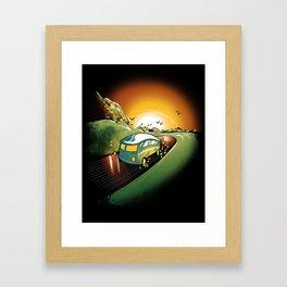Killer Road Trip  Framed Art Print