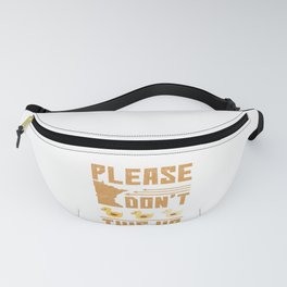 Sarcasm Please Don't Duck This Up Fanny Pack