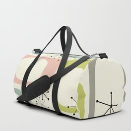 Mid Century Modern Shapes #society6 #buyart Duffle Bag