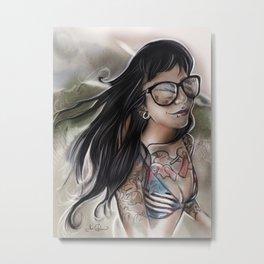 RGD Girl Portrait | JDsmigs Metal Print