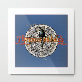 Bosch Black Crow Metal Print