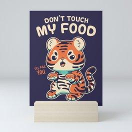 My Food Mini Art Print
