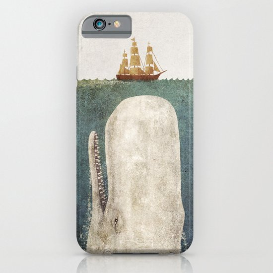 The Whale - vintage option iPhone & iPod Case