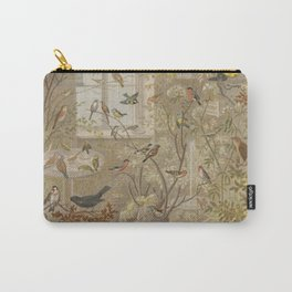 Antique Aviary Carry-All Pouch