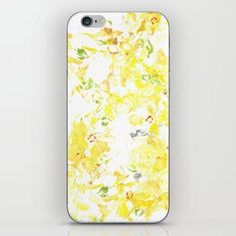 Botanical Impressions: FORSYTHIA iPhone Skin