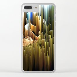 Upwards to the sunshine after the rain Clear iPhone Case