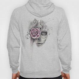 Rose Sugar Skull Hoody