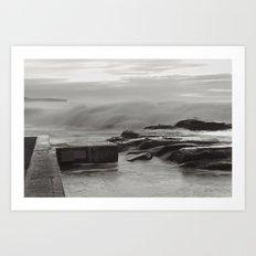 Whale Beach 4861 Art Print