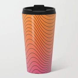 lines in the color Travel Mug