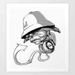 Life, Hip-Hop is! Art Print