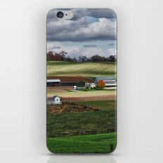 Fall Winds Arrive at the Farm iPhone & iPod Skin
