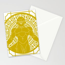 Stained Glass - Dragonball - Golden Frieza Stationery Cards