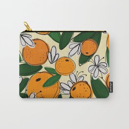 Oranges in Bloom Carry-All Pouch