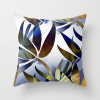 bamboo Throw Pillows featuring Bamboo by Artisimo