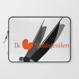 Ik hou van Skûtsjesilen Laptop Sleeve