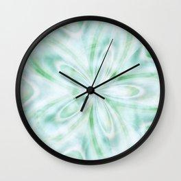 Seaspray Fractal Wall Clock