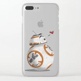 Droid Kisses Clear iPhone Case