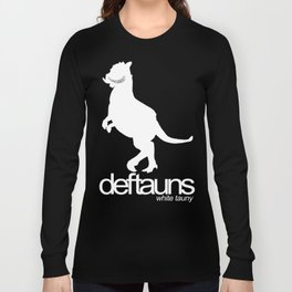 Deftauns White Tauny Long Sleeve T-shirt