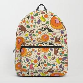 Cute Jungle and Monkeys Backpack