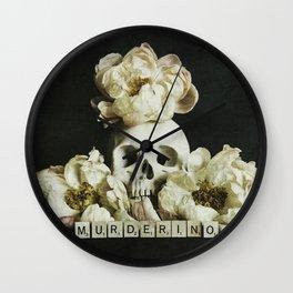 Murderino Wall Clock
